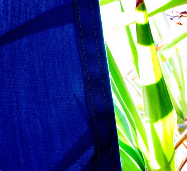 * Blau i verd