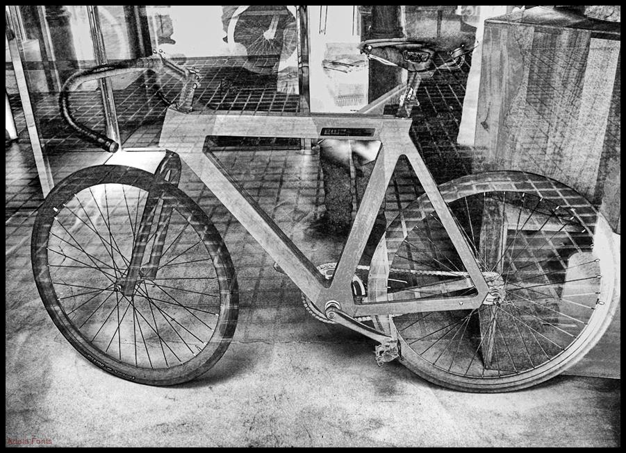 * Una bicicleta de disseny
