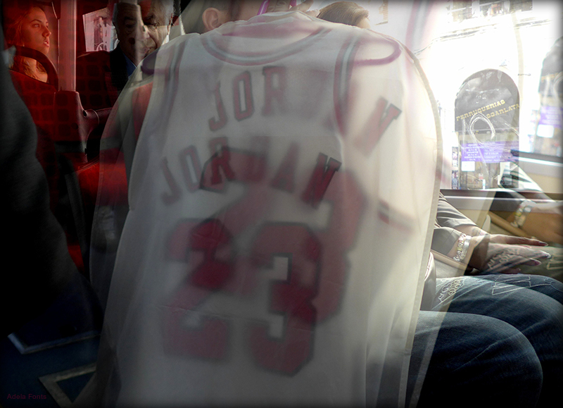 * Jordan nº 23 al bus