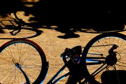* Bicicleta i ombres