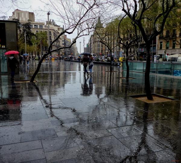 * Un mirall de pluja