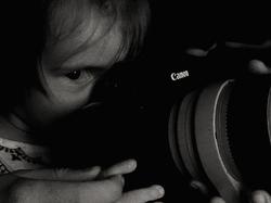 * L'ull i la Canon