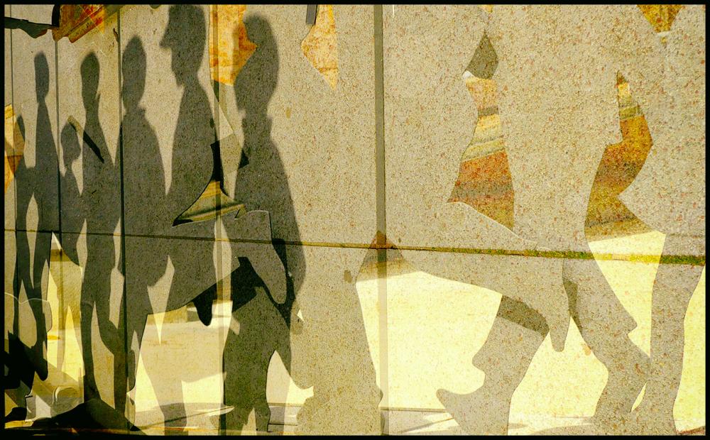 * Composició amb nens i ombres