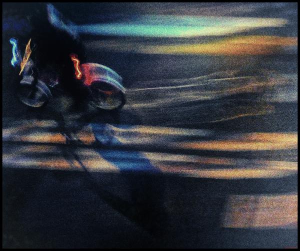 * La bici nocturna a la ciutat