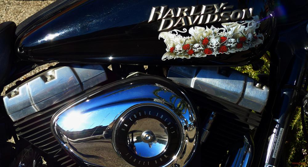 * Harley Davidson, mon amour!
