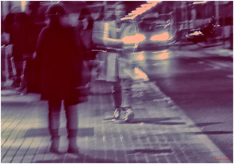 * El carrer de nit
