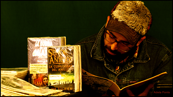 * Un llibreter de vell