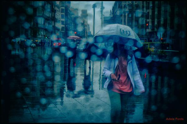 * Gotes de pluja