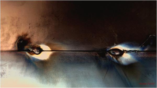 * Abstracció en metall