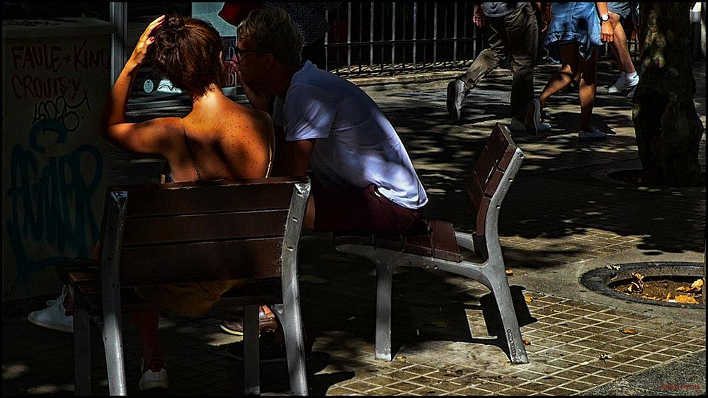 * Un esquena al sol