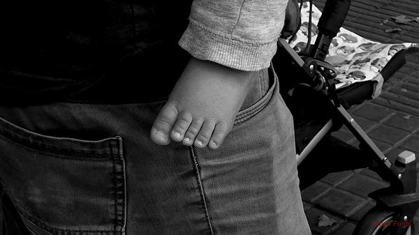 * El peu del nadó