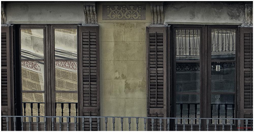 * Balcó de l'Eixample de Barcelona 1