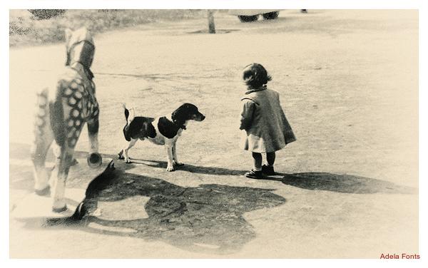 * El cavall, el gos i la nena