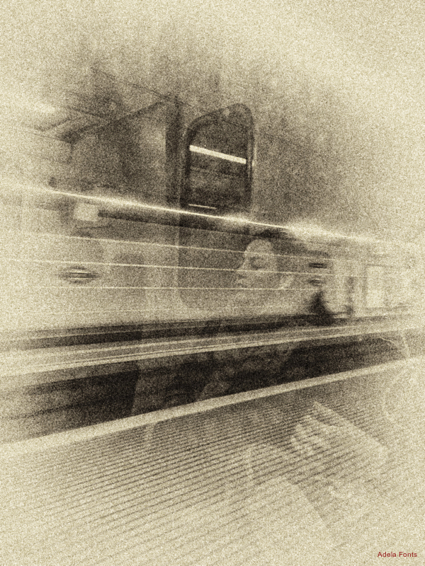 * Sortint de la estació