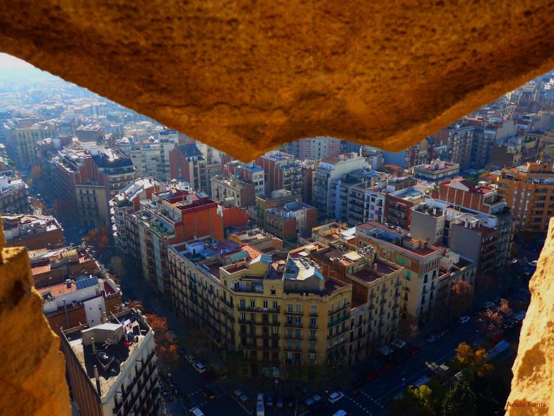 * Sagrada Família. Vista des d'una de les torres