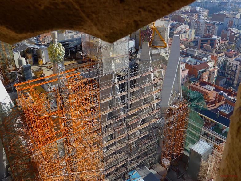* Sagrada Família. Vista des d'una de les torres2