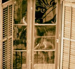 * Collage a la finestra
