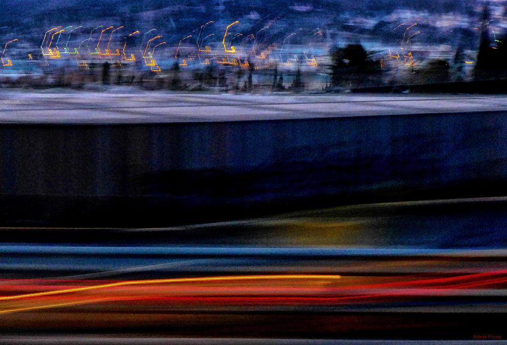 * Moviment nocturn a la carretera