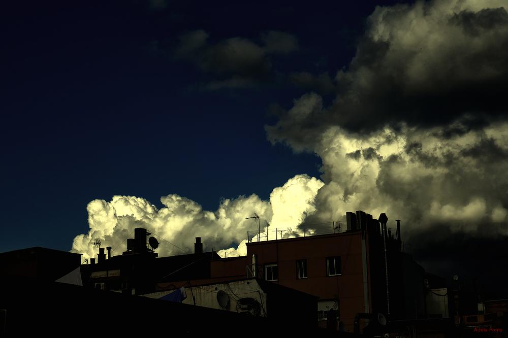 * Cels d'hivern a la meva ciutat. 4
