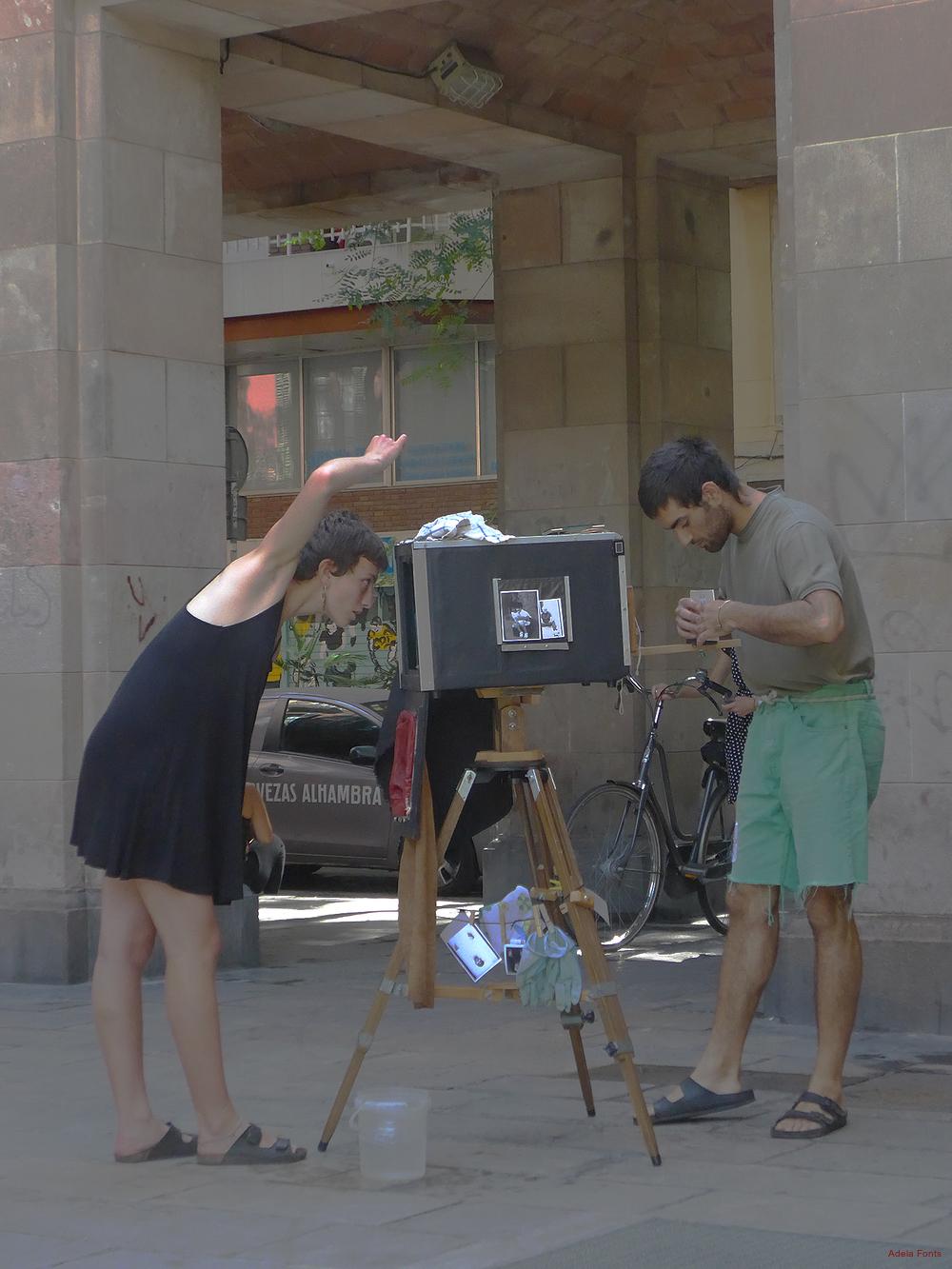 * Fotògrafs al carrer