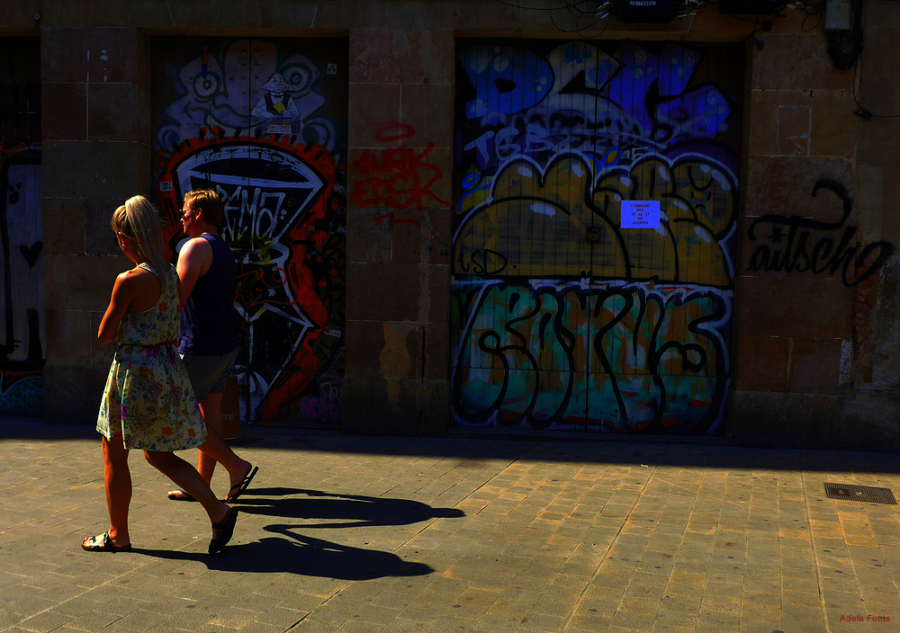 * Ciutat Vella i el sol