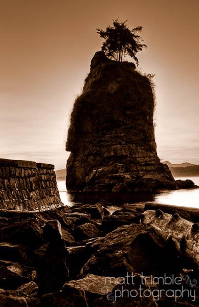 Siwash Rock