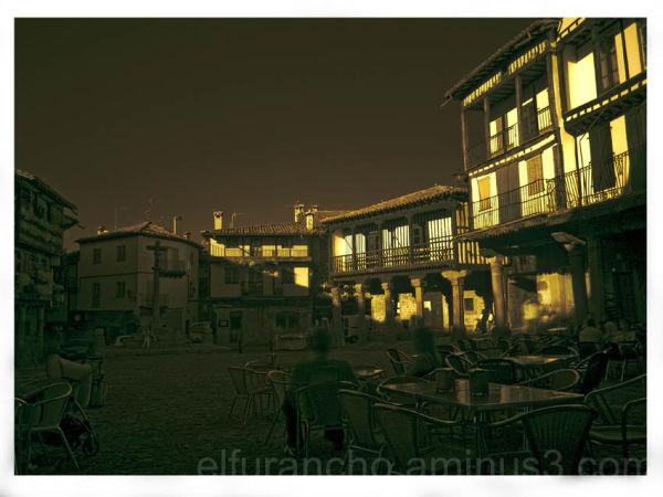 Plaza mayor de la Alberca