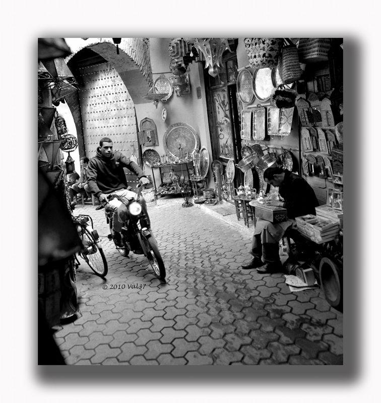 Le moyen de locomotion préféré à Marrakech