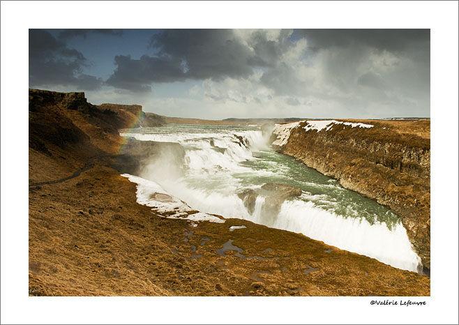 Gulfoss en Islande