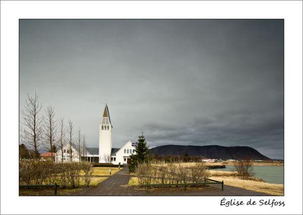 Eglise à Selfoss