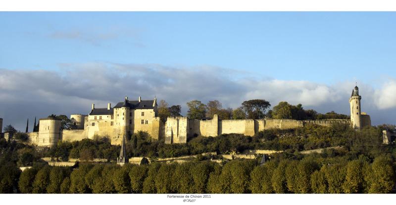 Chinon et sa forteresse