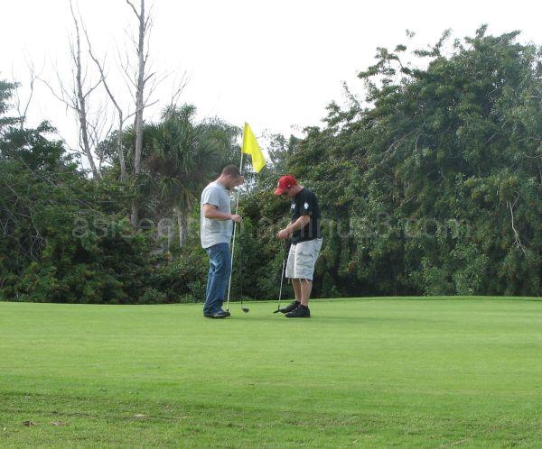 golf is serious stuff