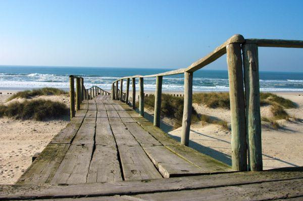 Path to Atlantic ocean