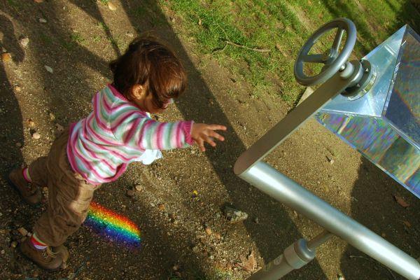 I'll show you the rainbow.