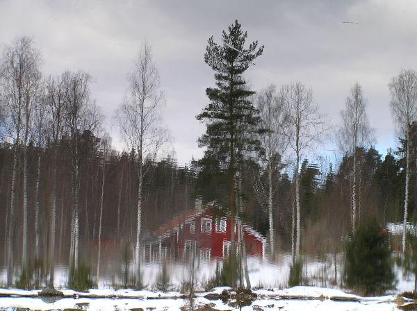 Reflections värmaland sweden jössefors