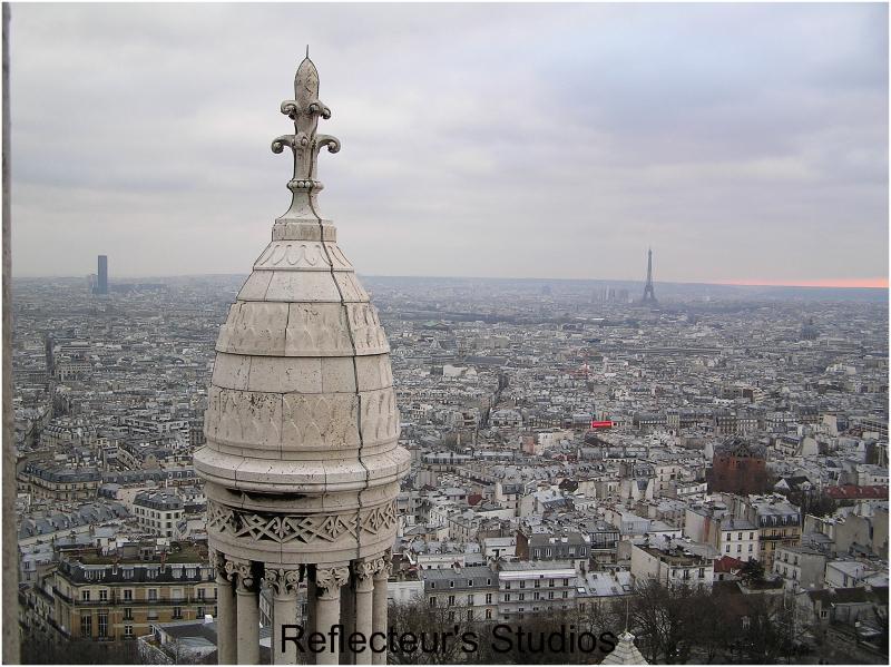 paris Montmartre  Basilica of the Sacré Cœur