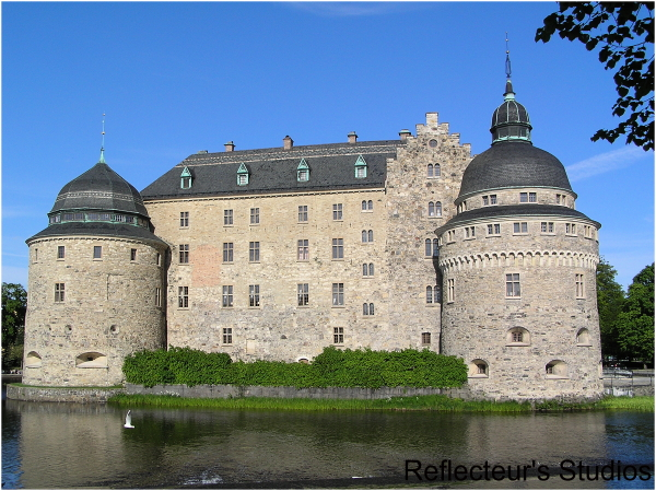 örebro castle sweden reflecteurs studios