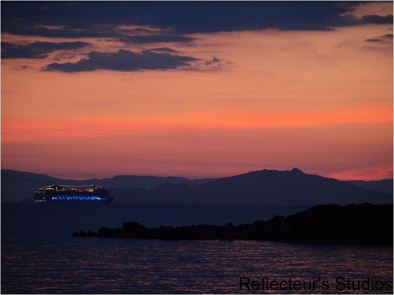 greece hellas pyrgos ionian sea agios andreas