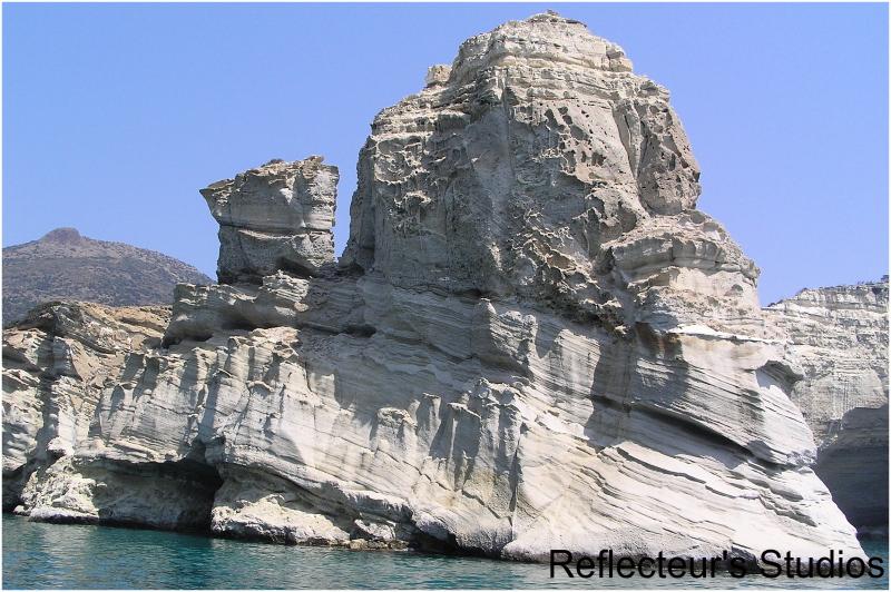 kleftiko milos island aegean sea grece greece grec