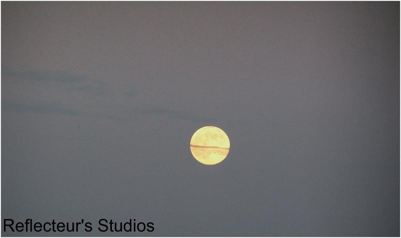 moon sky nature reflecteurs studios