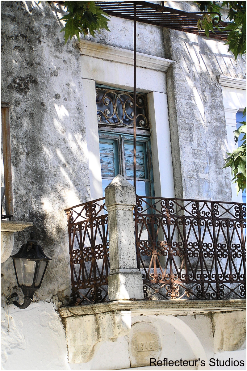 architecture old village greece hellas reflecteurs