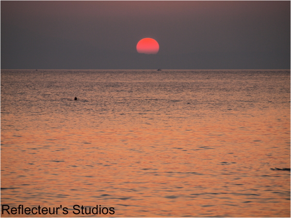 greece hellas reflecteurs sea crete sunset