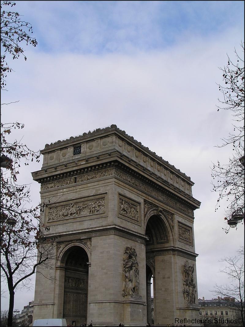 Arc de Triomphe Arc de Triomphe de l'Étoile france