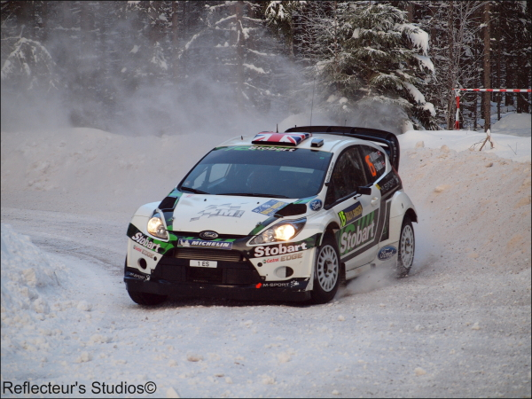 WRC-Rally Sweden 2011