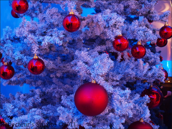 christmas tree reflecteurs studios