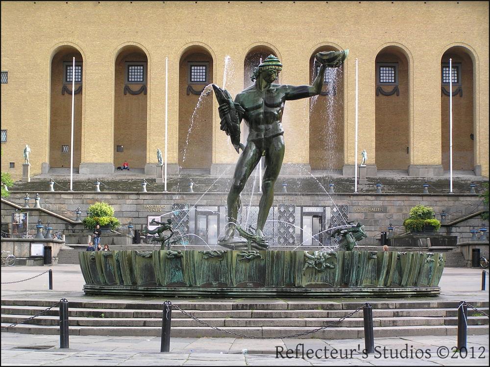 Poseidon Götaplatsen gothenburg sweden göteborg