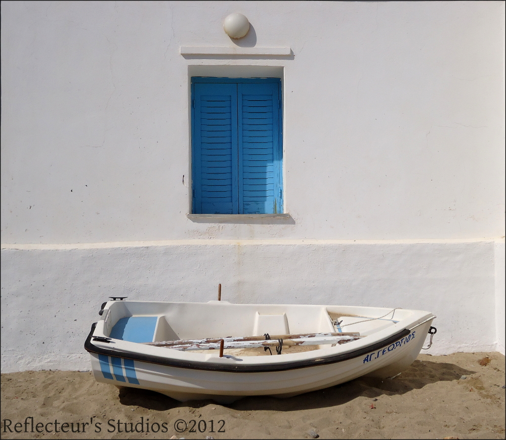 sifnos greece hellas aegean sea blue reflecteurs