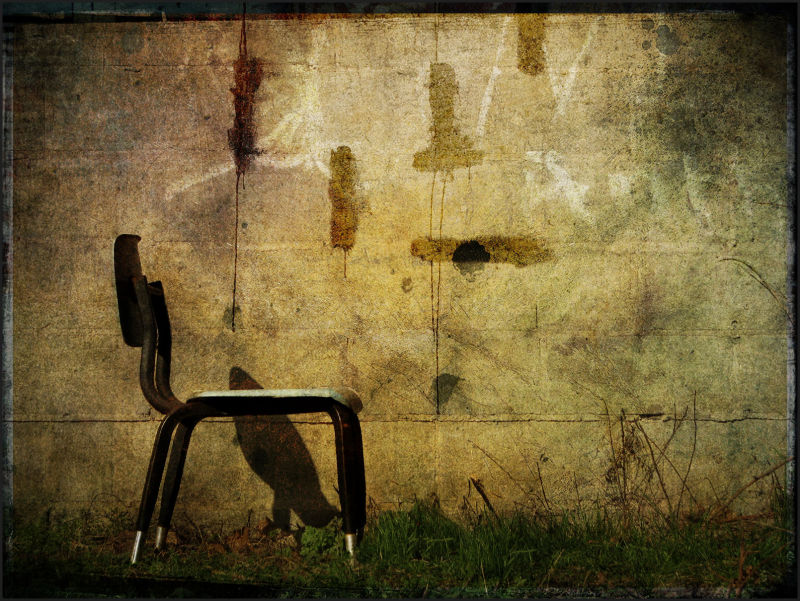 old,chair