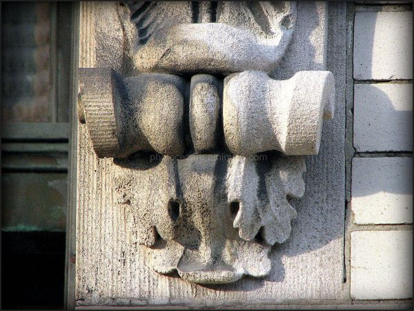 detail of architecture ornament