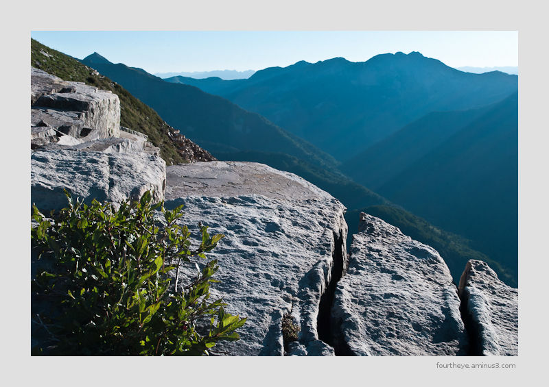 montain peak morning